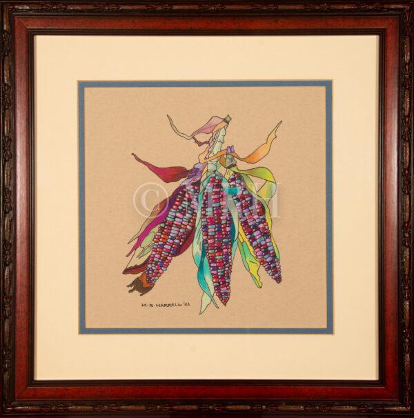 Indian Corn artwork